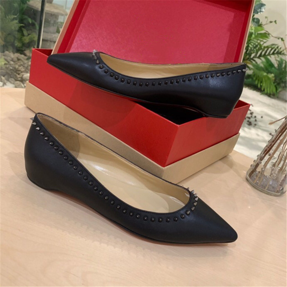 Size 33-42 Spring Autumn Woman Leather Shoes Lady Leather Shoes Soft Woman Flats Grey