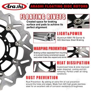 Image 2 - Arashi disques de frein avant/arrière, 1 jeu, Rotors, pour SUZUKI GSXR1000 (2001) et 2014, CNC, 1000, 2007, 2008, 2009, 2010, 2011