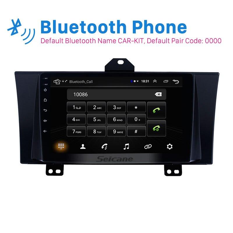 Seicane 2din Android 8.1 autoradio multimédia lecteur vidéo auto stéréo GPS pour Honda Elysion 2012 2013 2014 2015 support Carplay