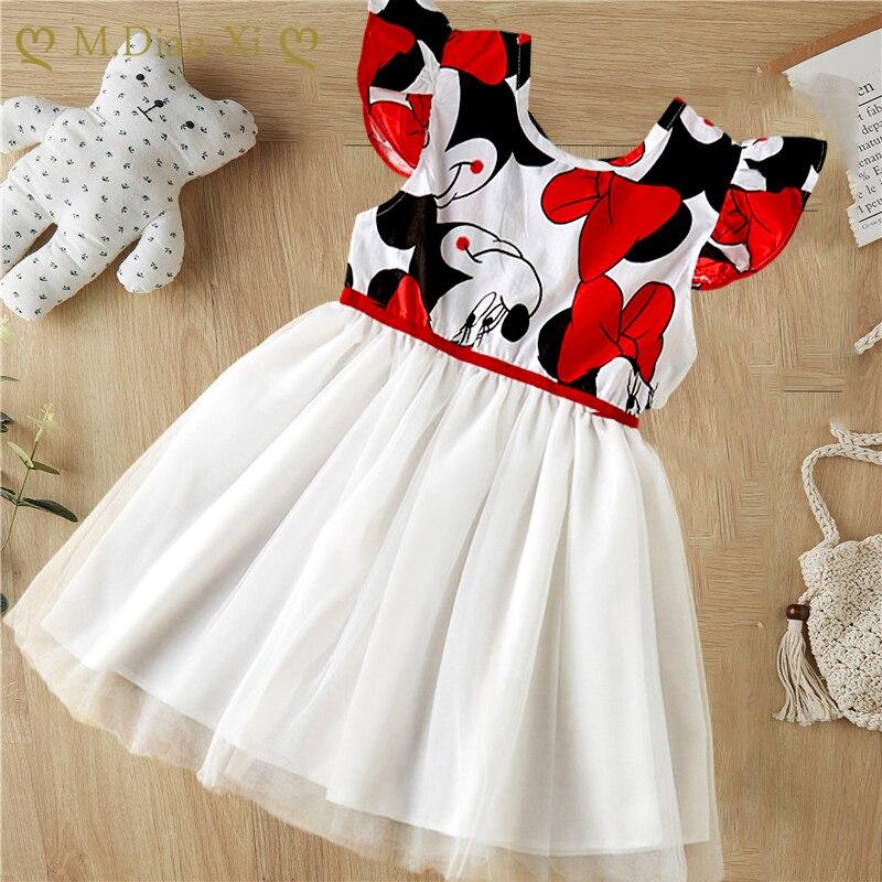 Vestido de moda para desfile, ropa para chico y niña, vestido de princesa para niño pequeño, vestido sin mangas, tutú de encaje con lazo de flores