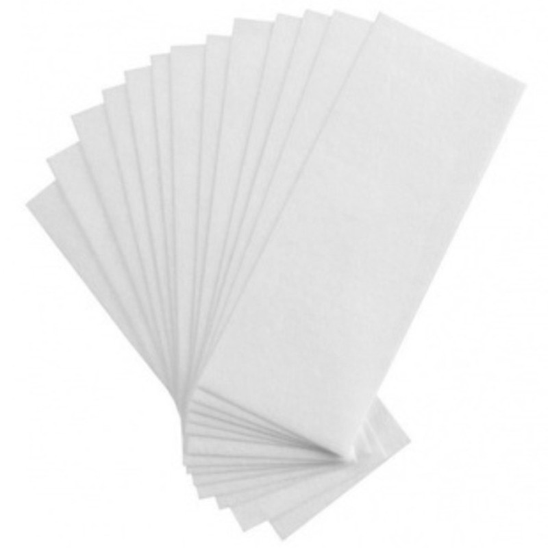 High Quality 80pcs Removal Nonwoven Body Cloth Hair Remove Wax Paper Rolls Hair Removal Epilator Wax Strip Paper Roll