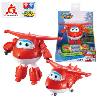 Abs Super Wings Deformation Transforming 5 Scale Airplane Robot Action Figures Super Wing Transformation Toys For Children Gift 17 auldey style small super wings deformation mini jett mini robot wing action figures wing transformation toys for kids