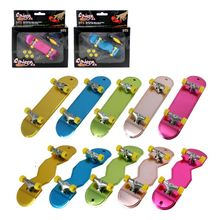 Toys Fingerboard Deck Party Mini Kids Children Alloy Gifts Novelty 1set Adults Cute