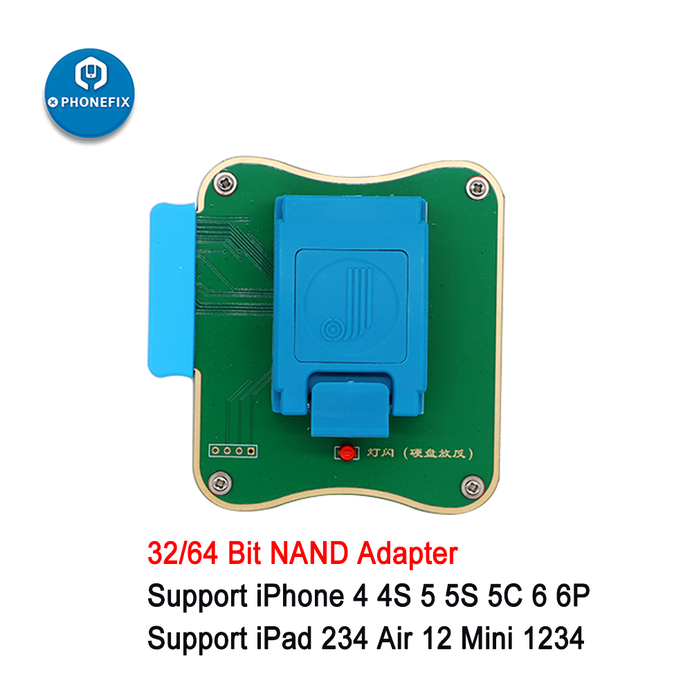 Tools : JC Pro1000S NAND Programmer 32 64 Bit NAND Flash Serial Data Read Write Repair Tool for iPhone 4 5 5S 6 6P for iPad Air Mini