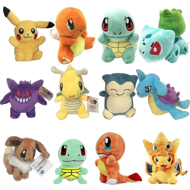 Charmander Plush Badges: Eevee Pokemon Pikachu