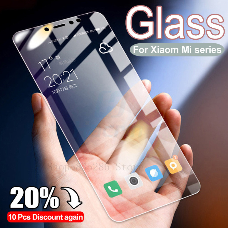 3D Tempered Glass For Xiaomi Mi 5 5S Plus 5X 6 6X A1 A2 Lite Screen Protector On Mi 8 SE Lite Pocophone F1 Protective Glass Film(China)