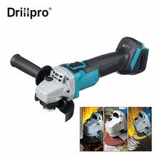 For Makita 18V 125mm Brushless Cordless Impact Angle Grinder DIY Power Tools Electric