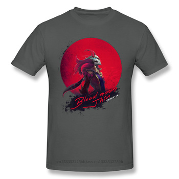 Blood Moon Jhin Casual T Shirt Hot Sale League Of Legends LOL MOBA Tee Shirt 100% Cotton O Neck T-shirts 2