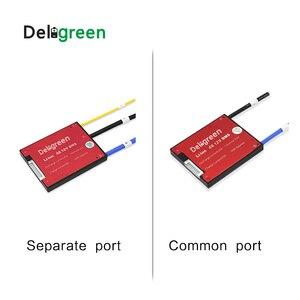 Image 4 - Deligreen 4S25A35A45A60A 12V PCM/PCB/BMS dla 3.2V akumulator litowy LiFePO4 akumulator oddzielny Port