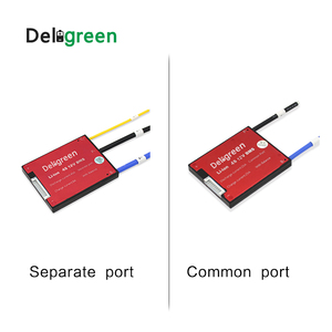 Image 4 - Deligreen 4S25A35A45A60A 12V PCM/PCB/BMS for 3.2V lithium battery pack LiFePO4 Battery Pack Separate Port