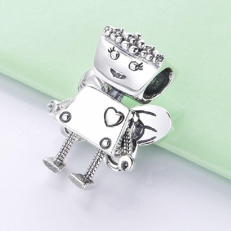 Kostenloser Versand Authentische 925 Sterling Silber Goldenen Schnatz Anhänger Charme Fit Original Pandora Armband Für Frauen DIY Schmuck Perle