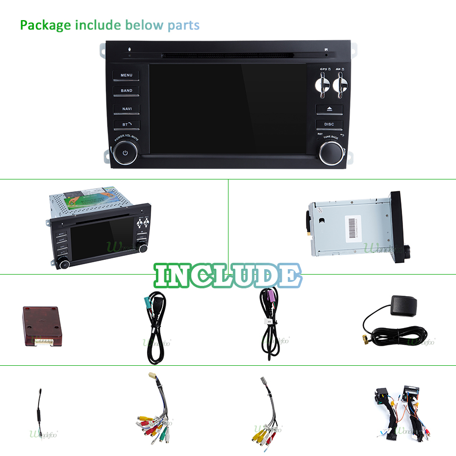 Image 5 - IPS DSP 4G 64G 8 Core 2 דין אנדרואיד 10 מולטימדיה לרכב נגן dvd GPS ניווט עבור פורשה קאיין S GTS 2003 2010 רכב רדיו FMdin android2 din androidcar dvd player -