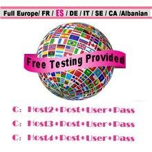 Stable Europe Cccam for 1 year 3 cline Server Portugal Germany cccam Spain For DVB-S2 Satellite TV Receiver GTmedia V8 Nova box europe cccam cline for 1 year dvb s2 spain free test server for spain italy portugal germany gtmedia v8 nova v7 hd server