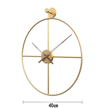 2020 Creative Wall Clock Modern Design For Home Office Decorative Hanging Living Room Classic Brief Metal Wall Watch 11
