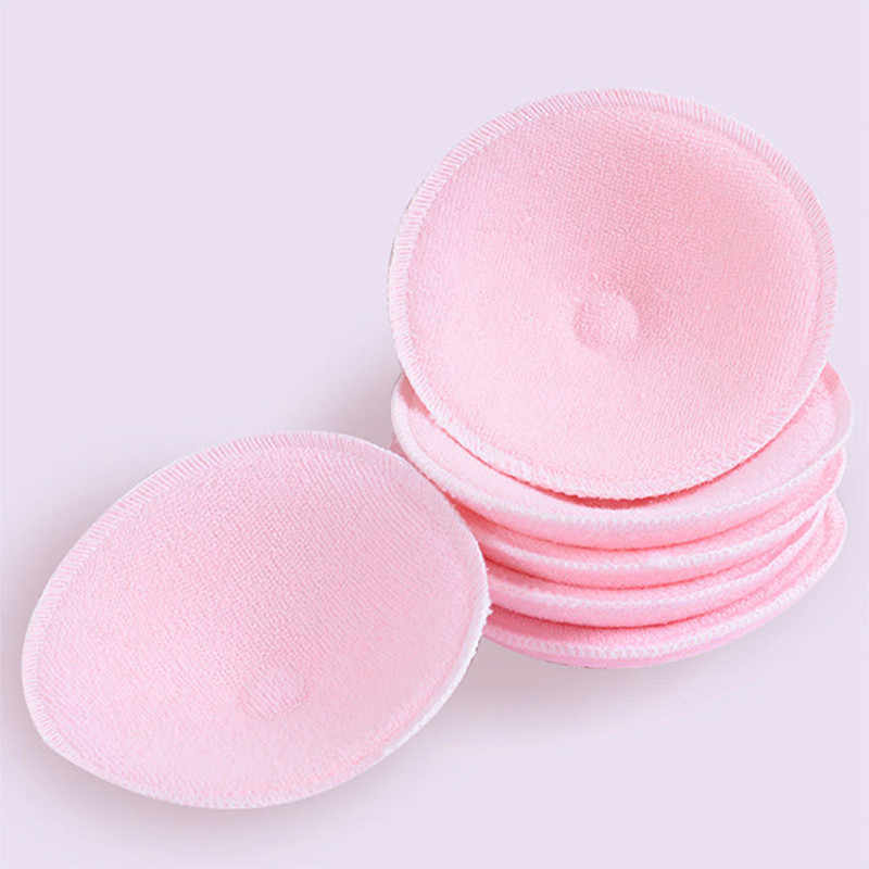 1 Pair Soft Cotton Baby Nursing Pad Washable Feeding Breast Pad Absorbent Reusable Nursing Anti-overflow Postpartum Nursing Pads