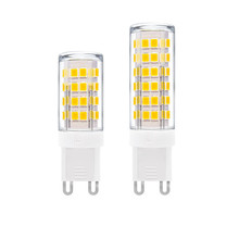 O bulbo conduzido 1-10x g9 5w 7w 9 12 15w 18w 220v 240v g9 conduziu a lâmpada smd2835 g9 conduziu a luz do milho substitui 30w 40w 50w 70w 80w halogênio luz