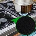 8 шт/УП. Защитные пленки для газовой плиты и 2 шт. Силиконовая вставка для плиты  защита горелок  Защитная крышка для газовой плиты Reus