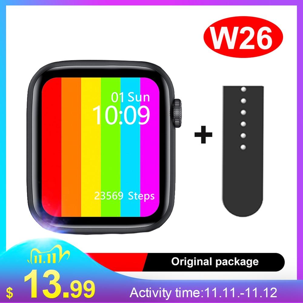 iwo w26 ECG Bluetooth Call  w26 smartwatch 1 75 inch IPS screen  LEMFO smartwatch iwo 12 better than iwo 12 pro