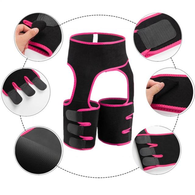 New Hip Enhancer Leg Shaper Slimming Corsets Flat Stomach Shaping Waist Trainer Butt Lifter Body Shapewear Slim Sweat Belt 4