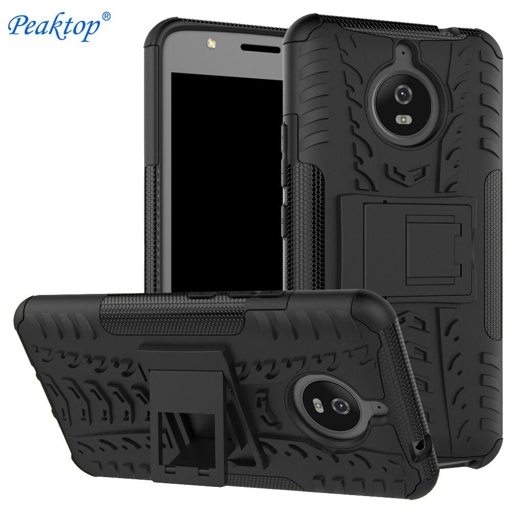 Case For Motorola MOTO E4 E5 Plus Play X4 PC + Silicone Anti Shock Impact Rugged Armor Case For Moto E 4 5 G5 G5S G6 Plus Cover