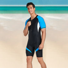 Trendy Men's Short Diving Suit Neoprene Men's Back Zip Shorty Wetsuit Scuba Diving Suit Rash Guard Men Gift серфинг #gh(China)