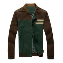Shang Cai collar jacket new slim short paragraph men baseball uniform M-5XL