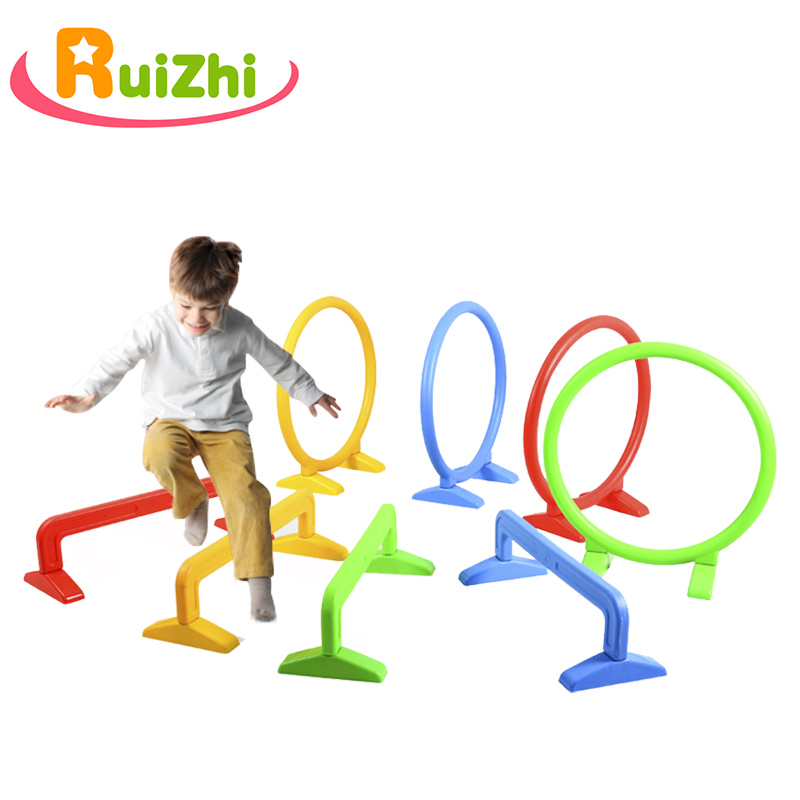 Ruizhi Children Hurdles Sport Jumping Through Hoops Outdoor Sport Activities Equipment Indoor Arch Barrier Frame Kids Toy RZ1068