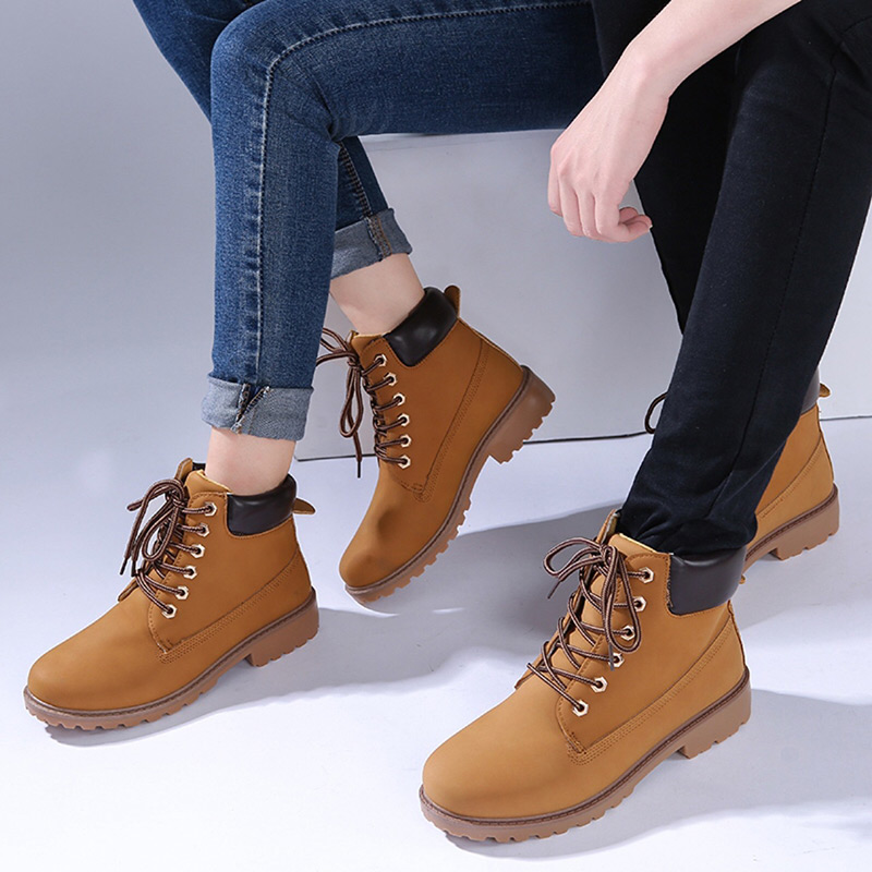 Image 3 - Winter boots women shoes 2019 warm fur plush sneakers women snow boots women lace up ankle boots winter shoes woman botas mujer-in Ankle Boots from Shoes