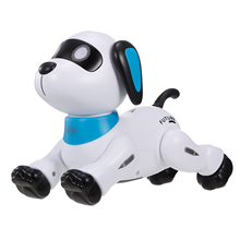 K21 Electronic Robot Dog Stunt Dog Remote Control Robot Dog Toy Voice Control Programmable Touch-sense Music Dancing Toy