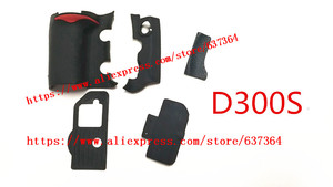 Image 2 - NEW A Set Of Body Rubber 5 pcs Front cover and Back cover Rubber For Nikon D300 D300S Camera Replacement Repair spare parts