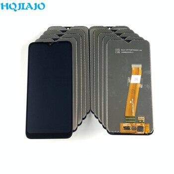 10 unid/lote LCD para Samsung Galaxy A01 A015 pantalla LCD reemplazo de la pantalla táctil digitalizador asamblea para A015F A015G A015DS LCD