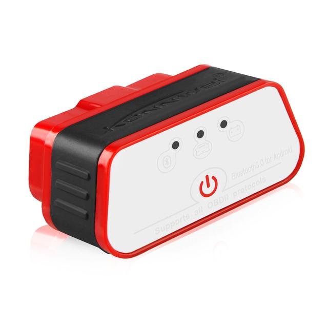 KONNWEI KW903 ELM327 OBD2 Scanner ICAR 2 V1.5 adattatore Bluetooth adattatore interfaccia strumento diagnostico automatico per Android