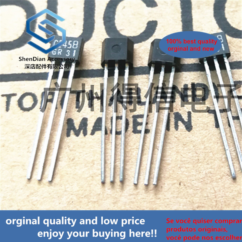 30pcs 100% Orginal New 2SC2458GR C2458 TO-92S TO-92 Plastic Package Transistors (NPN) Real Photo