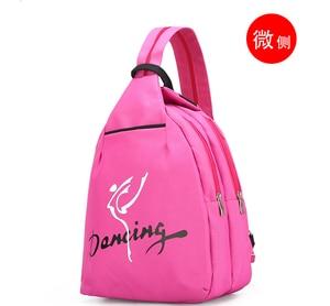 Image 5 - Child Kids Pink ballet bag Backpack Waterproof canvas Ballet Dance Bags Pink Ballerina Ballet Gift