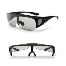 Vazrobe flip lens güneş gözlüğü fotokromik erkek kadın fit reçete gözlük sürüş gözlük miyopi optik sürücü