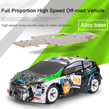 1:28 2.4G Four Wheel Drive Model RC Car High Speed Mini Thick Chassis Toy Remote Control Off-road Vehicle Gift Cool Portable four wheel drive off road vehicle simulation model toy car model baby toy car gift