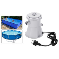Pool Pond Filter Pumps Cleanup Reusable Pool Easy to install Cleaner Install Home Convenient Pool Swimming Pool Filter Pump