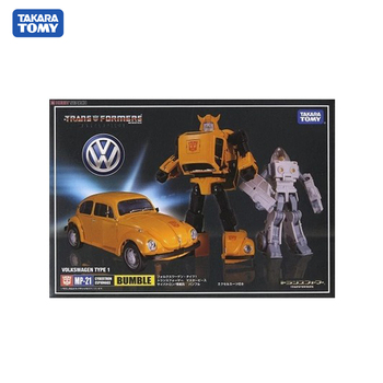 Takara Tomy Transformers MP21 Car Tank Metal Part 18 CM Bumble Action Figure Toys Deformation Robot Children Gifts