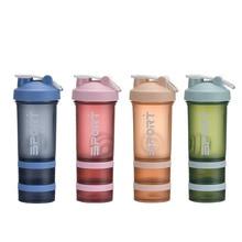 450Ml Plastic Scrub Shaking Cup  Scale  Shaker Bottle Shaker Protein Sports Shaker Drink Protain Shaker Sport Shaker Bottle