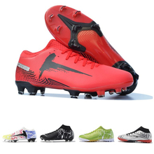 Football Boots Men Kids High Ankle Soccer Cleats Training Sneakers Women TF FG Outdoor Artificial Grass Comfortable Sport Shoes