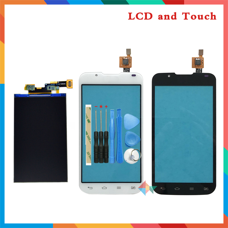 "High Quality 4.3"" For LG Optimus L7 II 2 Dual P715 Lcd Display Screen + Touch Screen Digitizer Sensor + Tools Free Shipping