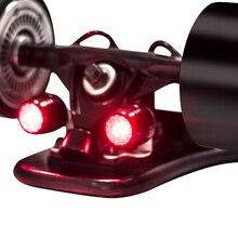 Koowheel, 4 шт., светодиодный фонарь для скейтборда, ночное Предупреждение, защитные огни для 4 колес, скейтборд, лонгборд