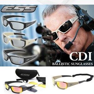 Image 1 - العلامة التجارية الأصلية الاستقطاب النظارات الشمسية الرجال UV400 4 عدسات التكتيكية نظارات الجيش نظارات الباليستية اختبار رصاصة واقية نظارات