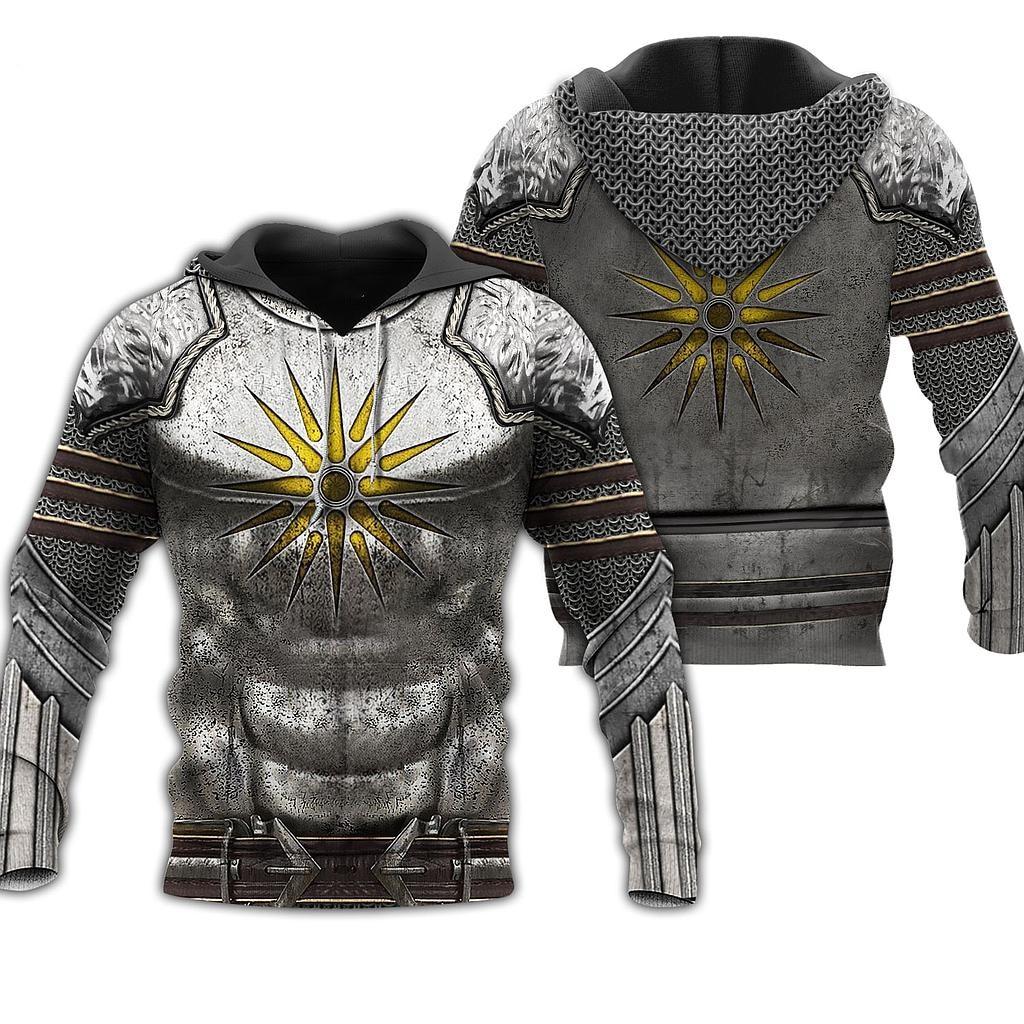 3D All Over Printed Macedonia Armor Of Warrior Hoodies Unisex Hip Hop Sweatshirt Casual Harajuku Jackets