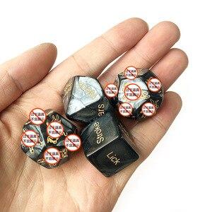 Image 3 - 2 zestaw marmurowych kostek gry imprezowe egzotyczne akcesoria Bdsm Bondage pozycje miłosne erotyczne bzdury rury dorosłych zabawki erotyczne dla par