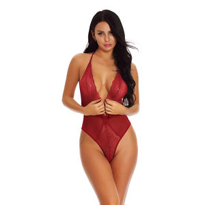 Sexy Erotic Lingerie Sexy Costumes Lace Siamese Perspective Three-Point Underwear G-string Sexy Lingerie Adult Products Women