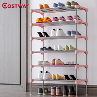 Sapato rack armário de armazenamento suporte sapato organizador prateleira para sapatos móveis para casa meuble chaussure zapatero mueble schoenenrek meble|Sapateiras| |  -