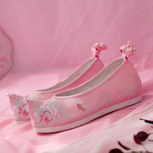 Hanbok Shoes Womens Antique Style