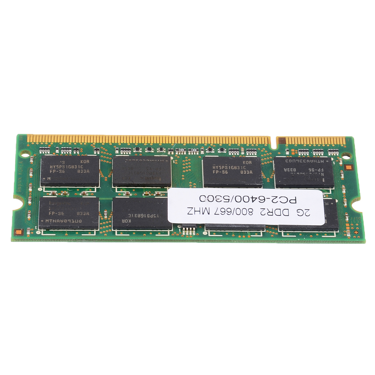 Laptop Memory DDR2 With 2GB PC2 6400/5300 800/667MHZ Low-Density 1