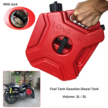 For BMW 5L Fuel Tanks Plastic Petrol Cans Car Jerry Can Mount Motorcycle Jerrycan Gas Can Gasoline Oil Container fuel Canister topauto 4 5l car fuel tank cap cover key oil gasoline diesel stainless steel storage petrol bucket car motorcycle accessories